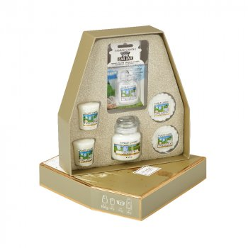 YANKEE CANDLE® Geschenkset Duft Clean Cotton®